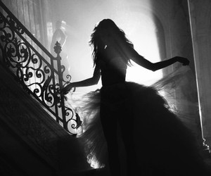 dress and shadow image