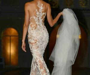 bride, dress, and elegant image