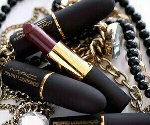 autumn, lipstick, and berry lips image