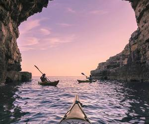 beautiful, kayaking, and outdoor image