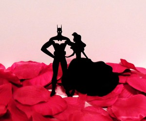 batman, cake topper, and the little mermaid image