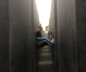 blond, germany, and holocaust memorial image