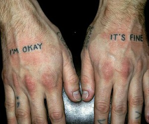 tattoo, grunge, and tumblr image