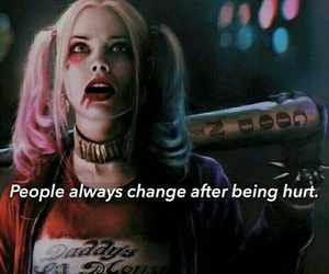 harley quinn, suicide squad, and hurt image
