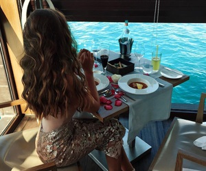 hair, luxury, and food image