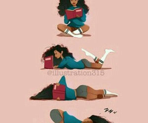 book, reading, and art image