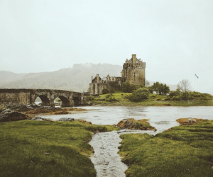 nature, castle, and landscape image