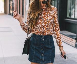 dress, hair, and skirt image
