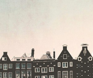 amsterdam, black, and building image