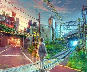art, digital art, and anime image