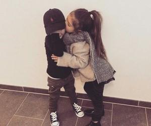 kids, boy, and girl image
