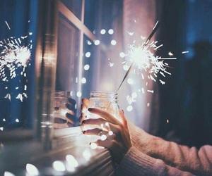 alternative, fireworks, and lights image
