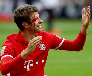 football, germany, and muller image