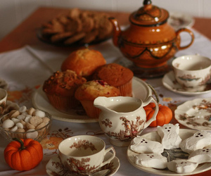 muffin and pumpkin image