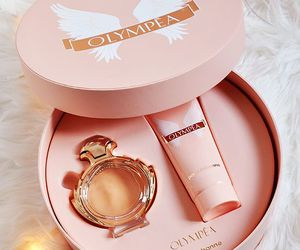 box, fragrances, and pink image