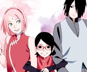 sasuke, naruto, and sakura image