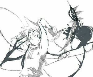 anime, boy, and soul eater image