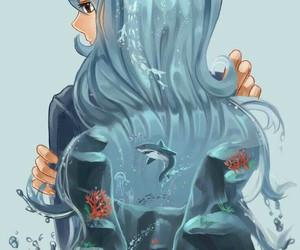 fairy tail, juvia, and anime image