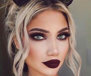 makeup, beauty, and Halloween image