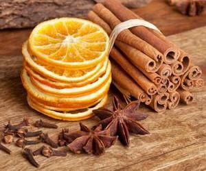 orange, autumn, and Cinnamon image