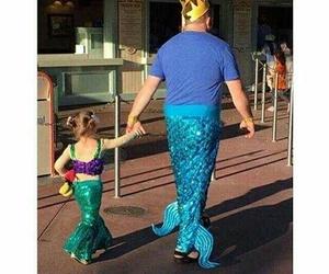 disneyland, funny, and mermaid image