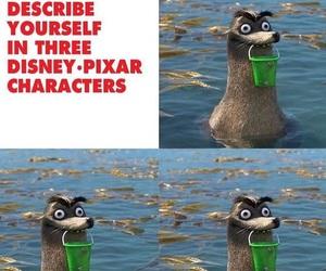 disney, funny, and pixar image