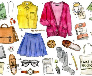 clothing, cool, and style image