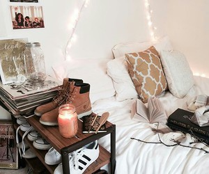 room, autumn, and garland image