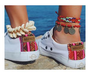 bohemian, shoes, and etnic image