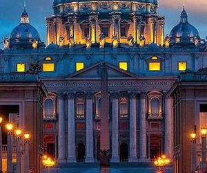 architecture, italy, and night image