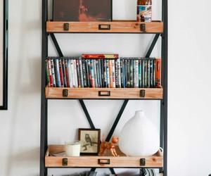 home decor, books, and home image