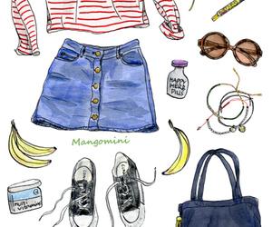 art, cute, and mangomini image