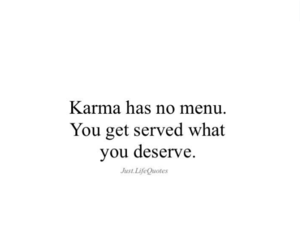 believe, karma, and of course image