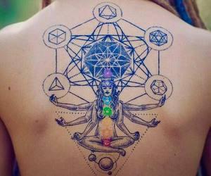 hippie, tattoo, and zen image