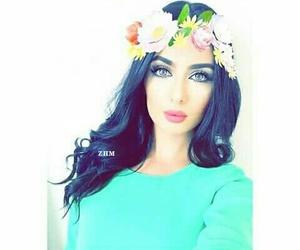 girls, غمازة, and خدود image
