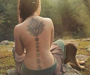 hippie, tattoo, and good vibes image