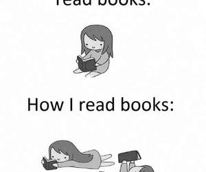 book, me, and read image