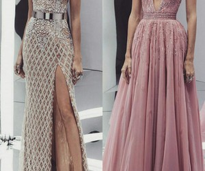 beautiful, fancy, and dresses image