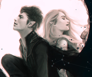feyre, rhysand, and a court of mist and fury image