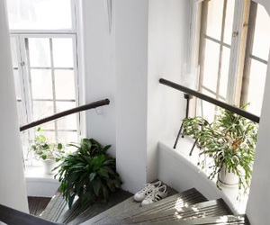 decor, interior, and stairs image