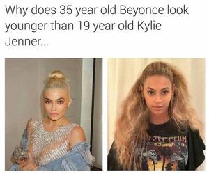 beyoncé, kylie jenner, and black don't crack image