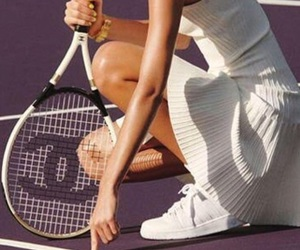chanel, summer, and tennis image