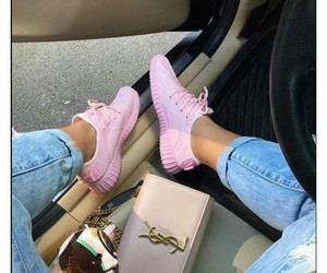 pink, shoes, and style image