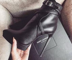 black, high heel, and brand image