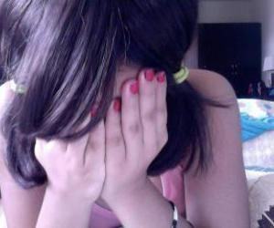 emo, nails, and pony image