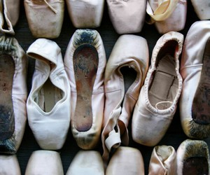 ballet, dance, and shoes image