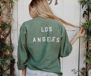 green and los angeles image