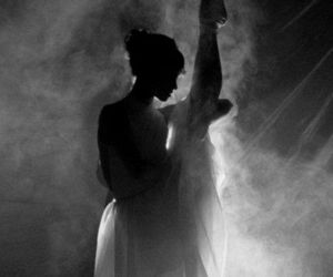 ballet, shadow, and woman image