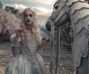 alice in wonderland, wonderland, and Anne Hathaway image