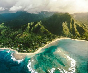 travel, nature, and ocean image